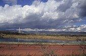 Pipelines and a steel complex Czech Republic ; Near Plzen city