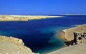 Desert shore of the Red Sea Ras Mohamed NP Egypt