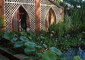 Garden pound at Jardin des Paradis