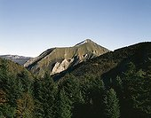 Domain of the bear Pyros in Pyrenees mass France ; Nicknamed the Bear Valley. <br>Where Pyros, a 20 year old male bear captured in slovenia, settled after being reintroduced in 1997.
