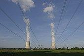 Tour de refroidissement de la centrale nucléaire de Golfech