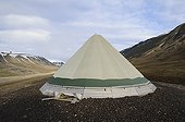 Yurt Longyearbyen Spitsbergen