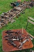 Old garden tools Picardie France