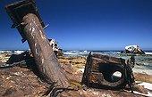 Restes métalliques Cap de Bonne Espérance Afrique du Sud