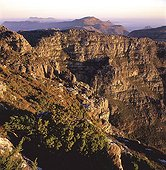 Montagne de la Table et Cape Point au loin Afrique du Sud