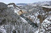 Yellowstone River near Fall Detower Yellowstone NP USA