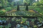 Flowery kitchen garden at Digeon Castle