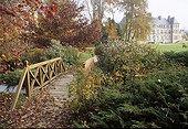 Courson Castle in autumn