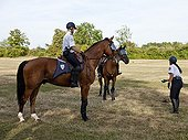 Training of Unity of the French Mounted Police ; Training to GTPI (Gestures and Technical Professionals Iintervention).