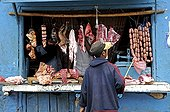 Character to a butcher in Madagascar