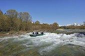Rafting on the river Bela Slovakia