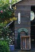 Hut Garden entitled 'A garden attic' France ; Designer: Hugh Peuvergne