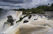Ambiguous Salto Falls Iguazu Argentina