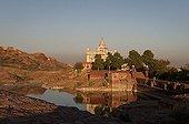 Jaswant Thada Jodhpur India ; Jaswant Thada, a 19th century royal cenotaph built in commemoration of Maharaja Jaswant Singh II, the 33rd Rathore ruler of Jodhpur
