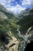 Valley nearly Gavarnie in France