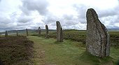 Ring of Brodgar megaliths Mainland Orkney Scotland ; Age: 4500 years