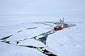 Icebreaker coastguard Amundsen Archipelago Canadian Arctic