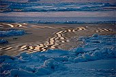 Reflections on Ice on Baffin Bay Canada