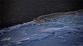 Ice along the Baffin Bay Canada