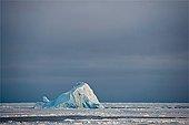 Iceberg drift in Baffin Bay Canada