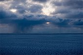 Rain on Ice on Baffin Bay Canada