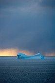 Iceberg drift Baffin Bay Canada