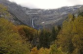 The Gavarnie France in autumn