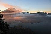 Lake Segara Anak Gunung Rinjani  Volcano Lombok Indonesia