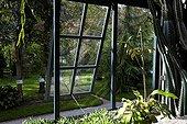 Old greenhouse Orto botanico di Padova Italy