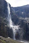 Waterfall of Cirque de Gavarnie in Hautes-Pyrénées  France