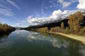 Columbia River between Golden and Radium Hot Springs Canada