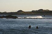 Bodyboarding at Diamand St-Pierre Saint-Pierre et Miquelon ; Character: Gilles Gloagen