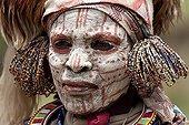 Portrait of Kikuyu women in traditional dress Nakuru Kenya