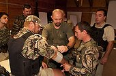 Anti Poaching training at Kariega Game Reserve South Africa ; Character: Davide Bomben<br>Master trainer of Poaching Prevention Academy