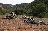 Anti Poaching training at Kariega Game Reserve South Africa ; Character : Davide Bomben, <br>Master trainer of Poaching Prevention Academy, Anti Poaching training at Kariega Game Reserve