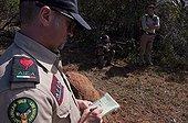 Anti Poaching training at Kariega Game Reserve South Africa ; Character : Massimo Vallarin, <br>