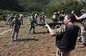 Anti Poaching training at Kariega Game Reserve South Africa ;