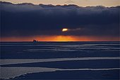 Baffin Bay on the morning of the Northwest Passage Canada