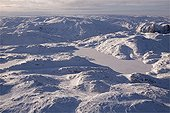 Aerial view of the Peninsula incognita of Baffin Island