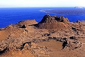 Volcano in the Galapagos Islands