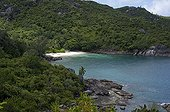 Anse Major on the island of Mahe in the Seychelles