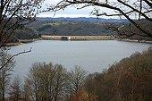 Barrage hydroélectrique de Bort-les-Orgues en Corrèze France