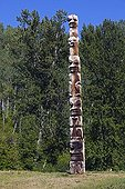 Totem former representative of human beings Canada ; Gitksan
