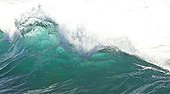 Surf on the Beach of Arnillas Bay of Biscay Spain