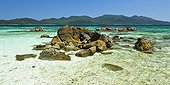 Tropical beach Tarutao MNP Koh Rockroy Adang Thailand