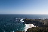 Landscape of the Cape of Good Hope in South Africa