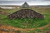 Traditional sheepfold Hveravellir Iceland