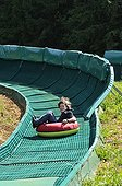 Downhill track plastic buoy was Jura France
