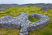 Dún Chonchúir Fort at Inishmore Island Aran Islands Ireland