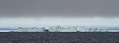Iceberg drifting into Baffin Bay Northern Canada